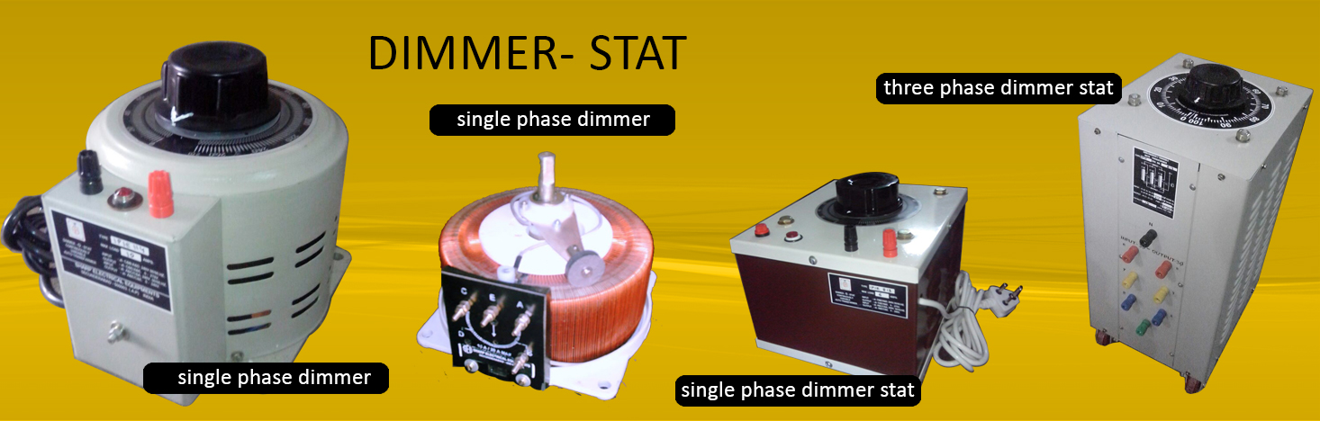 Manufacturer of Manufacturers : All type of single & three phase ...